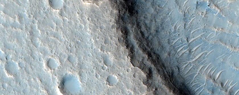 Terrain Near Idaeus Fossae
