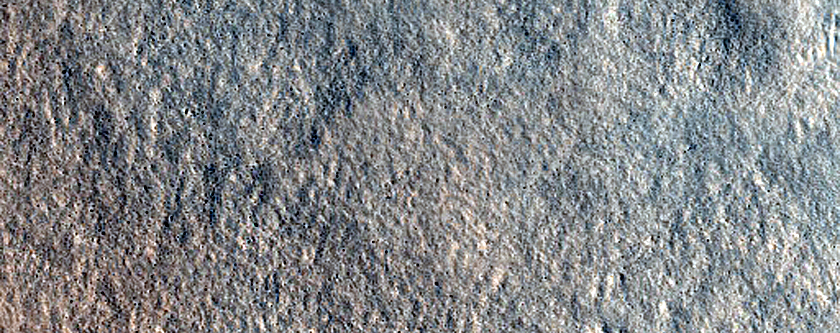 Ridges in Diacria Region