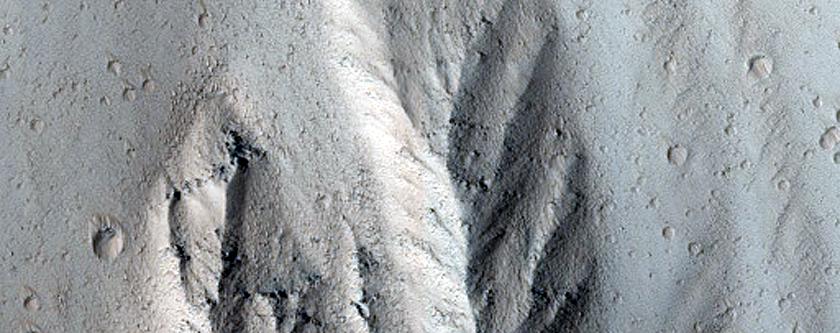 Olympus Mons Escarpment