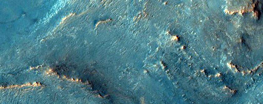 Possible Jarosite on Nili Fossae Plateau