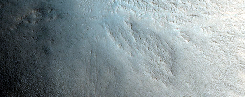 Crater on Northern Plains