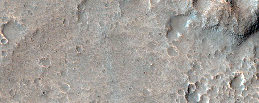 Ponded Floor Material in Eastern Valles Marineris