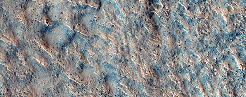 Rocky Terrain in Northern Lowlands