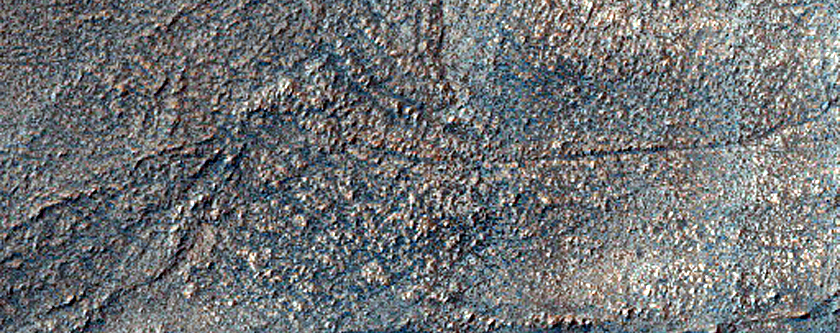 Ridges in Hellas Planitia