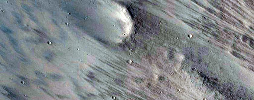 Crater East of Isidis Region
