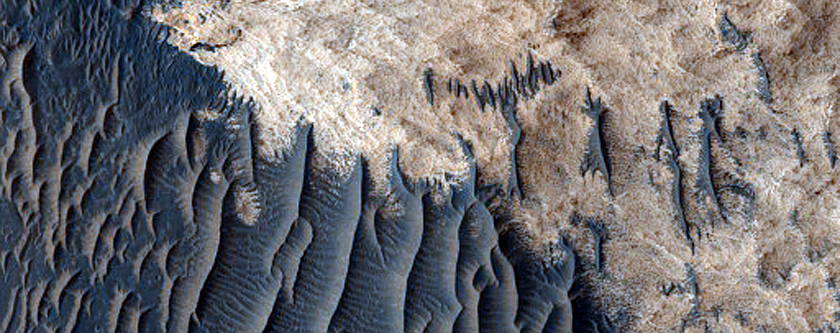 Layers in Meridiani Planum