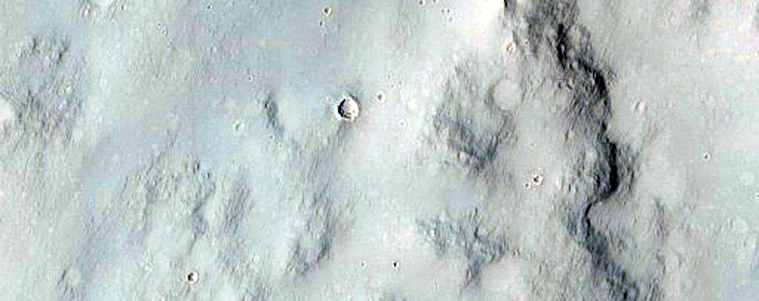 Western Rim of Gale Crater
