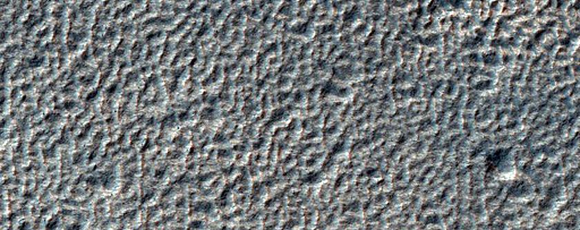 Terrain near Reull Vallis