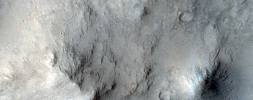 Peace Vallis Channel in Gale Crater