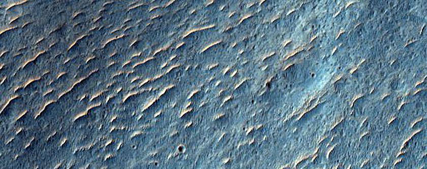Kinkora Crater and Surrounding Terrain