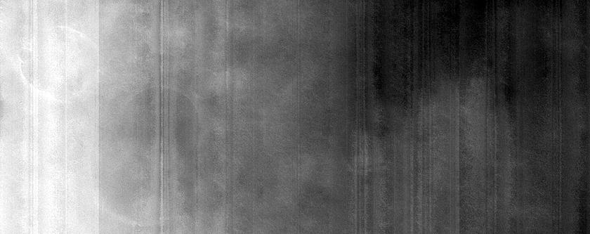 Cones in Chryse Planitia