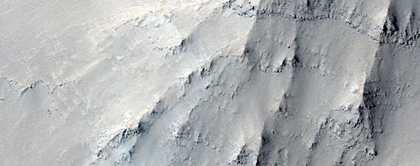 Ius Chasma Wall Survey