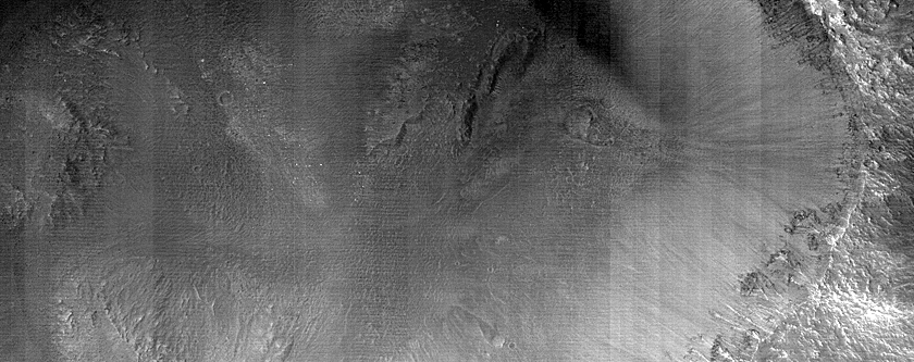 Monitoring Slopes of Fresh 6-Kilometer Rayed Crater