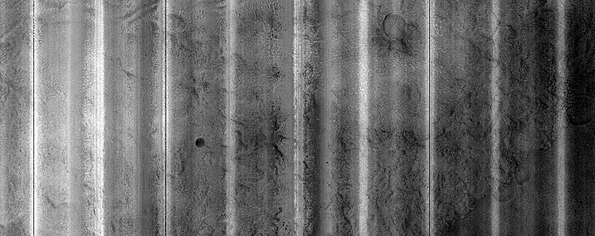 Scalloped Terrain in Utopia Planitia