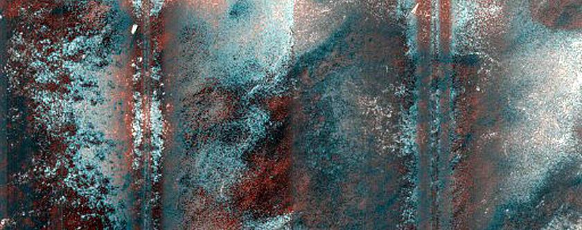 Cryptic Terrain Margin Monitoring in Promethei Rupes Region