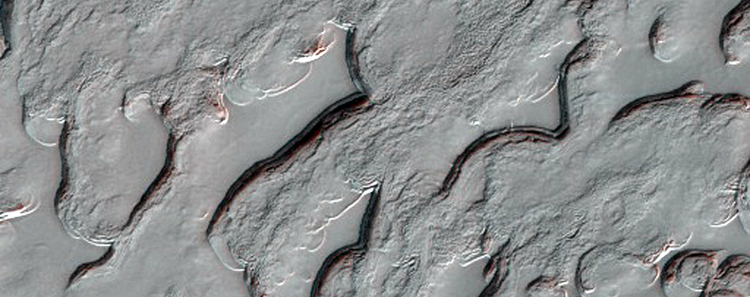 Interesting Textures in South Polar Residual Cap