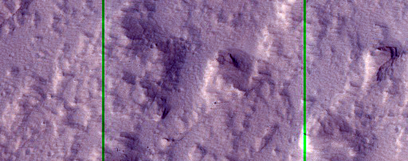Lava Flows on Olympus Mons