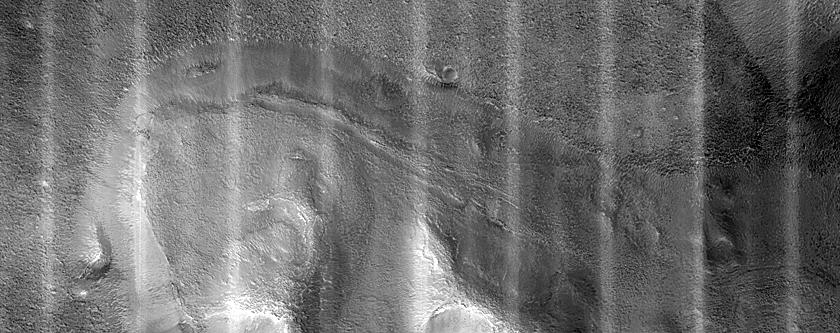 Massifs along Edge of Cydonia Labyrinthus