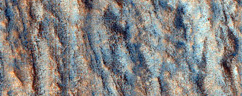 Sample of Varied Terrain in Arabia Terra