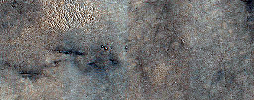 West of Gale Crater