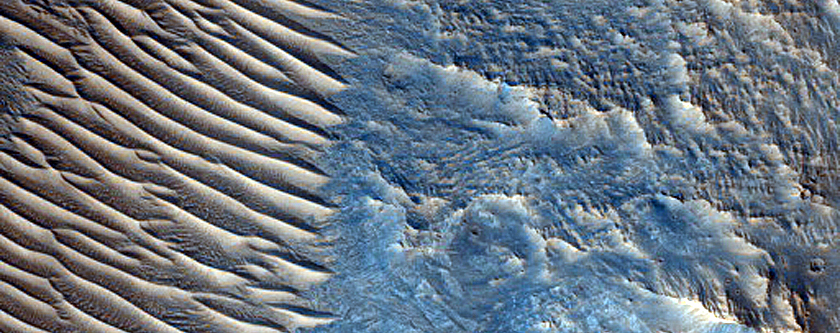 Central Uplift of Impact Crater