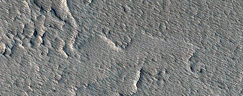 Small Eruptive Vents South of Pavonis Mons