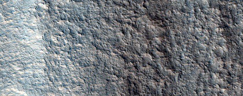 Elongated Streamlined Landform in Lower Shalbatana Vallis