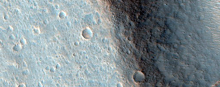 Layers and Grooves along Wall of Ares Vallis