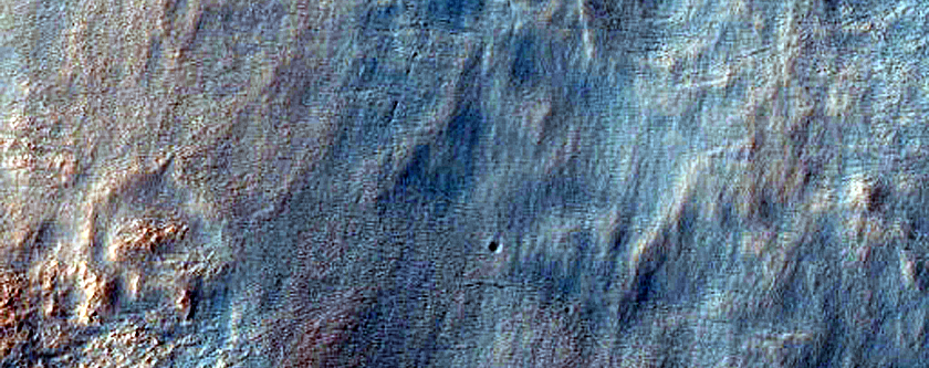 Central Uplift of Crater in Noachis Terra