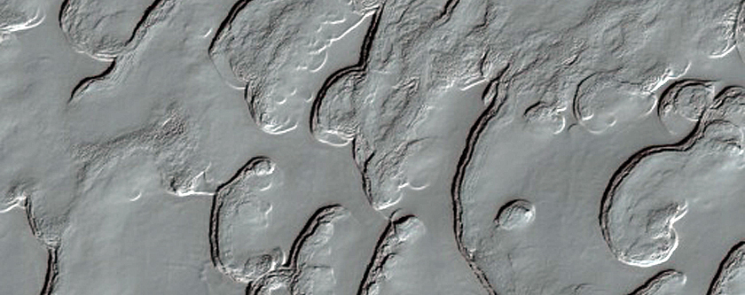 Interesting Textures in South Polar Layered Deposits