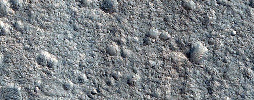 Candidate ExoMars Landing Site Near Hypanis Valles