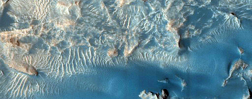 Ophir Chasma Aeolian Sediment Survey