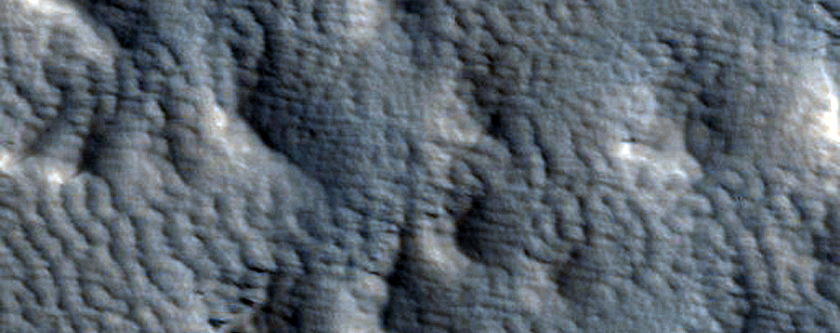Portion of Giant Lobe Off Arsia Mons West Flank