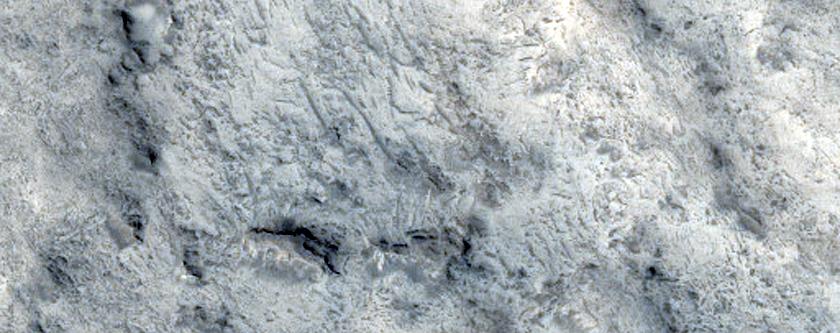 Terrain Northwest of Crommelin Crater