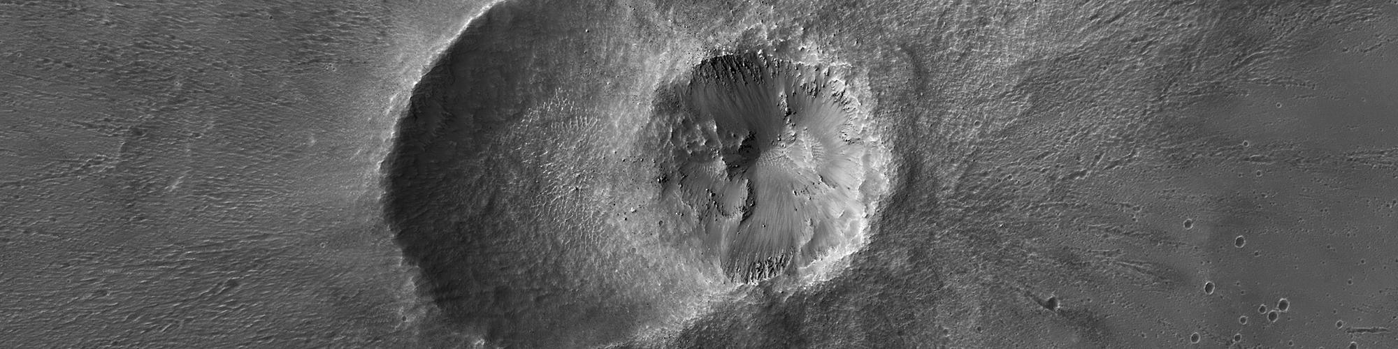 Twin Craters in Meridiani Planum