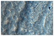 Поток в столовых горах Deuteronilus Mensae