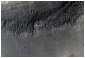 Small Lobe on Crater Floor in North Arabia Terra