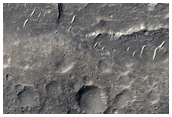 Geologic Contacts for Fluvial Feature in Aeolis Serpens