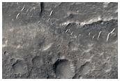 حدود جيولوجية في آيوليس سيربنس (Aeolis Serpens)