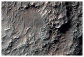 الجانب الغربي من وادي أوزبوي جنوب وادي نيغرال (Nirgal Vallis)