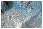 Pentes dans Acidalia Planitia