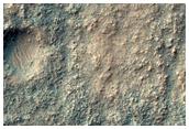 Ο πυθμένας ενός κρατήρα στις Κοιλάδες Navua (Navua Valles)