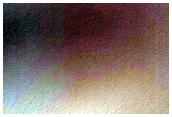 Οι πλαγιές του Χάσματος της Νεότητας (Juventae Chasma)