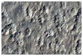 Limite meridionale del materiale espulso dal cratere Corinto