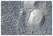 Catene di montagnole in Utopia Planitia
