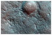 Dune nella parte occidentale della regione di Hellas