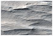 Aeolian Processes West of Gordii Dorsum