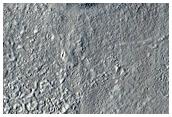 Plains in Erebus Montes
