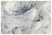 Interesante topografía en Elysium Planitia