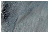 Seguimiento de las laderas en Melas Chasma